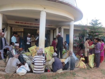 Hilfsgüterverteilung