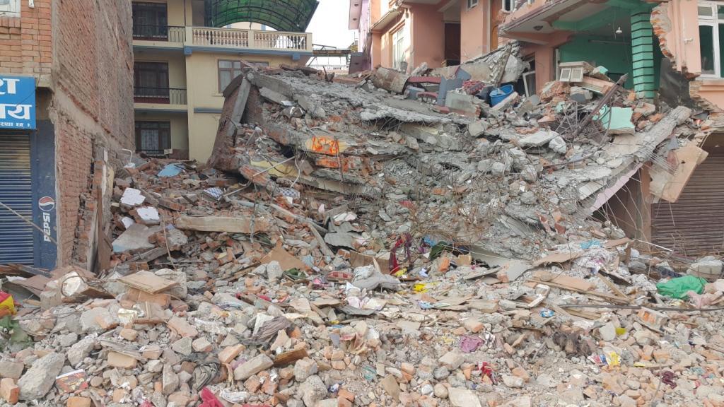 Schäden Erdbeben